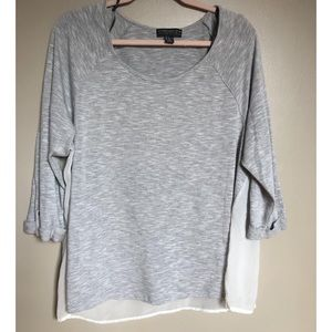 Forever 21 Blouse with Sheer Back